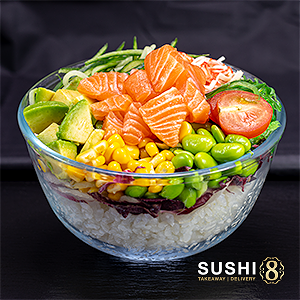 Foto Salmon Eight Bowl